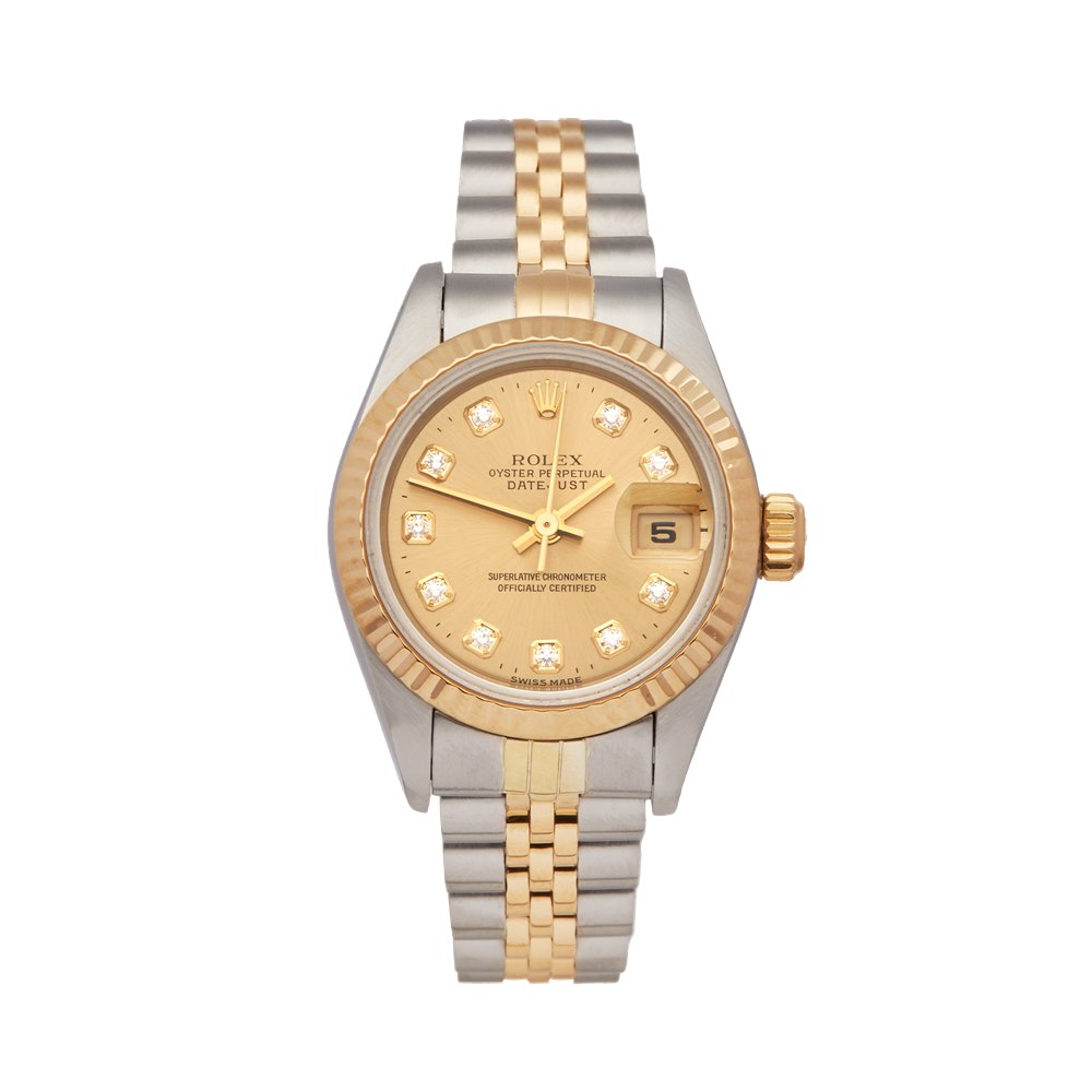 Rolex Datejust 26 Stainless Steel & 18K Yellow Gold 69173G