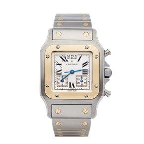 Cartier Chronoflex Stainless Steel & 18K Yellow Gold - 2425