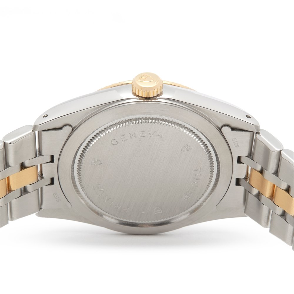 6f793444dd Tudor Date Day Stainless Steel   18K Yellow Gold 76213