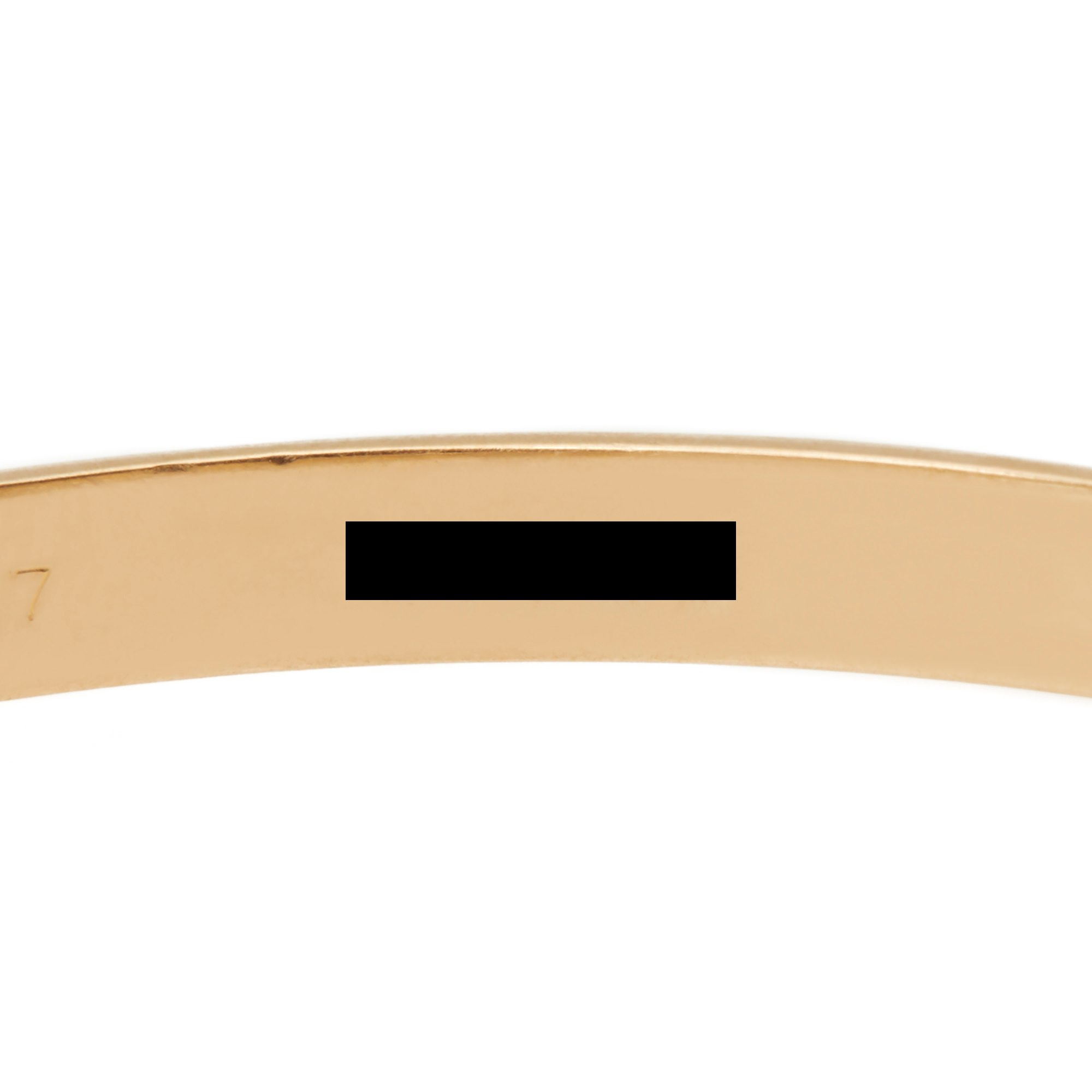 Cartier 18k Yellow, White & Rose Gold Medium Trinity Bracelet