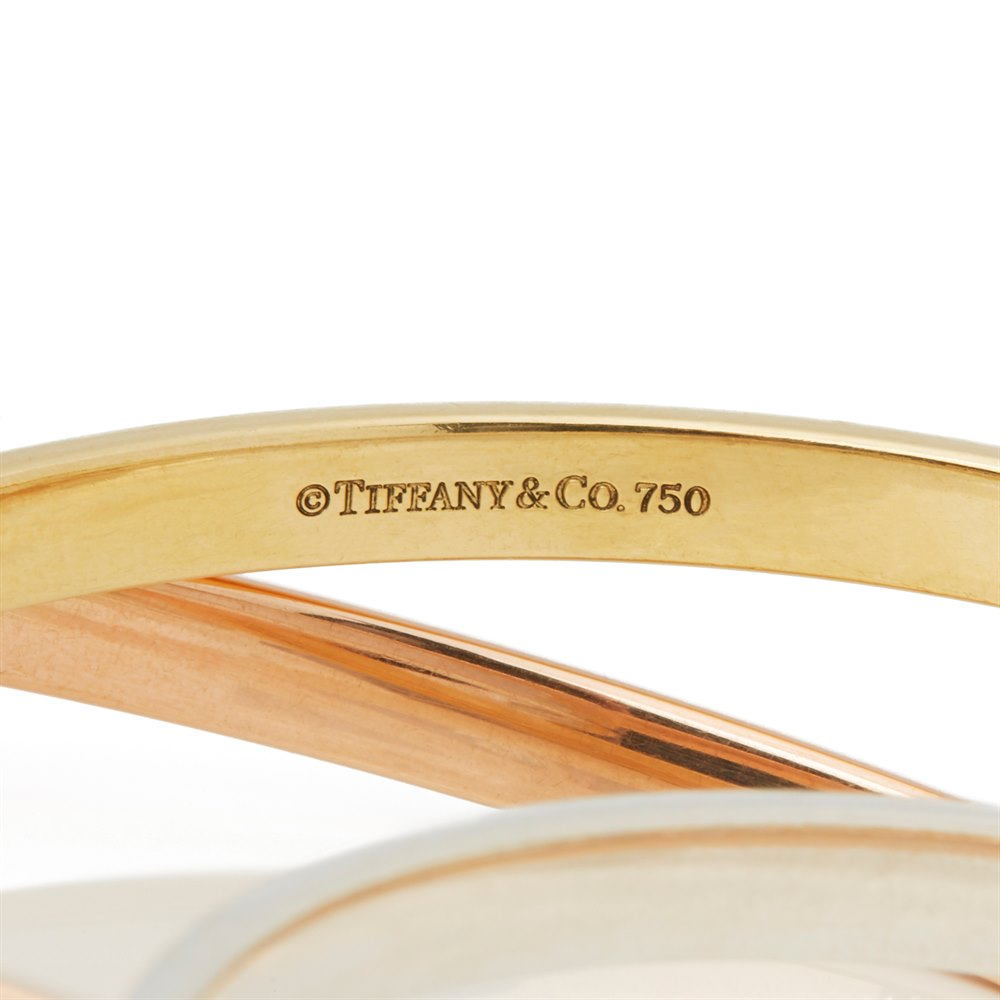 Tiffany & Co. 18k Yellow, Rose Gold & Silver 1837 Bracelet