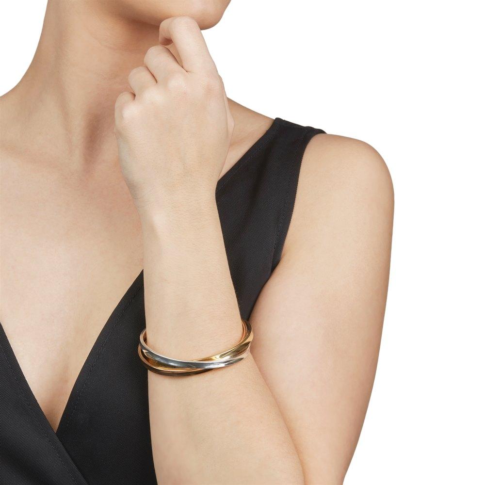 d2ba2e24bf720 18k Yellow, Rose Gold & Silver 1837 Bracelet