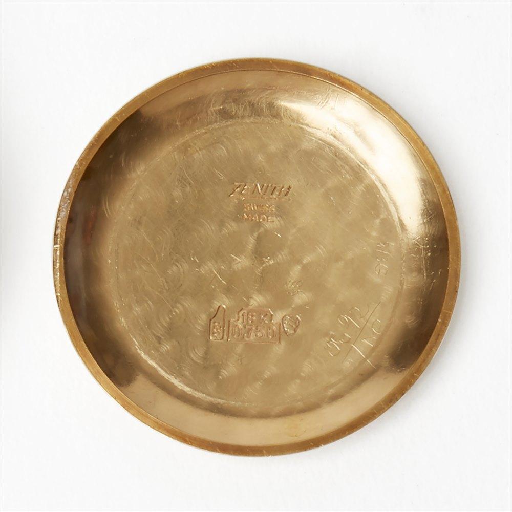 Zenith El Primero Chronograph 18k Yellow Gold G583