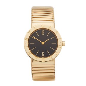 Bulgari Tubogas 18K Yellow Gold - BB302T