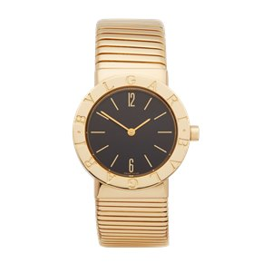 Bulgari Bvlgari Tubogas 18K Yellow Gold - BB302T