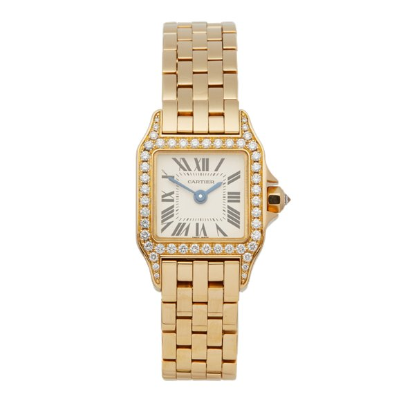 Cartier Santos de Cartier Diamond 18k Yellow Gold - 2853
