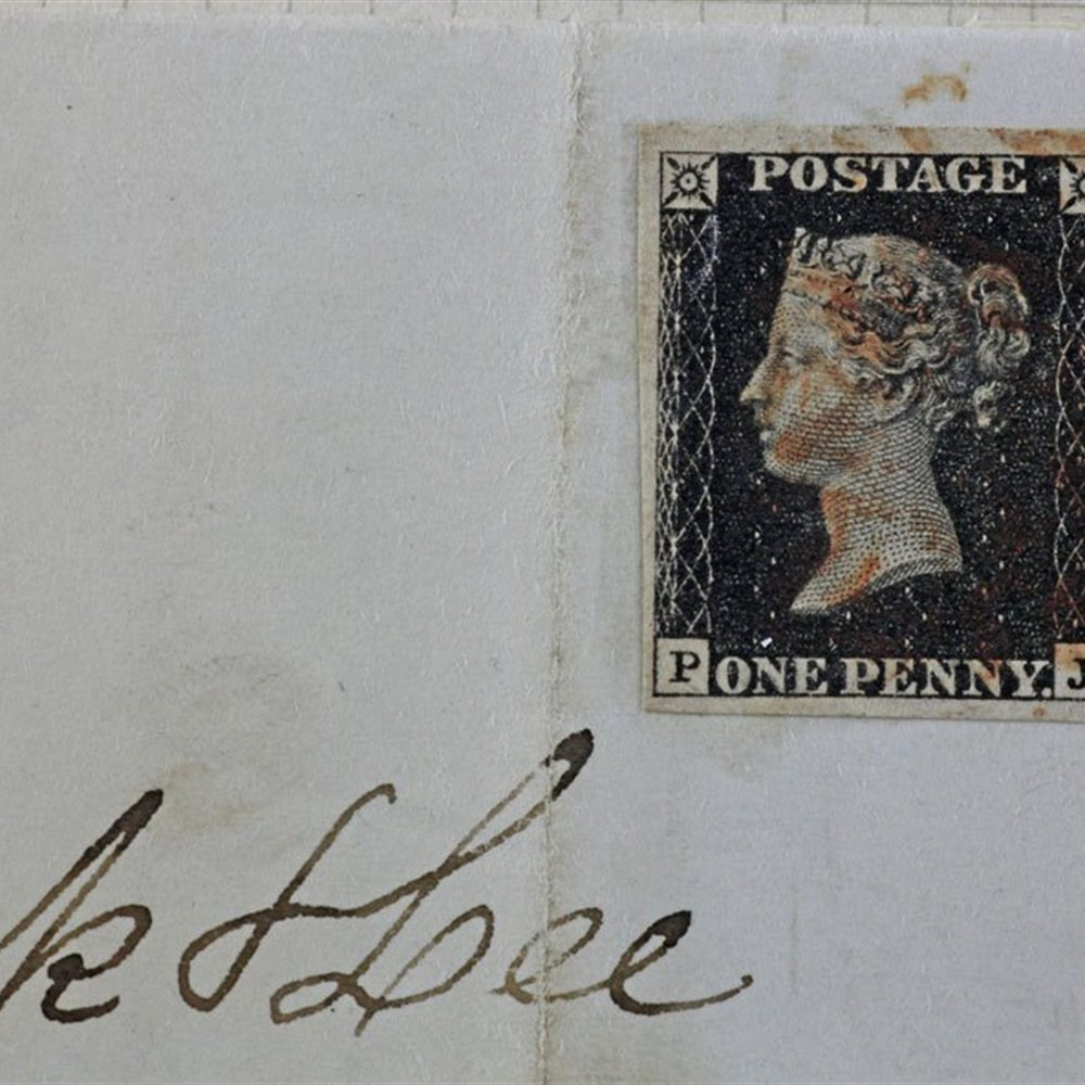 Gb Qv One Penny Black On Original Cover Carlisle To Brampton 1840