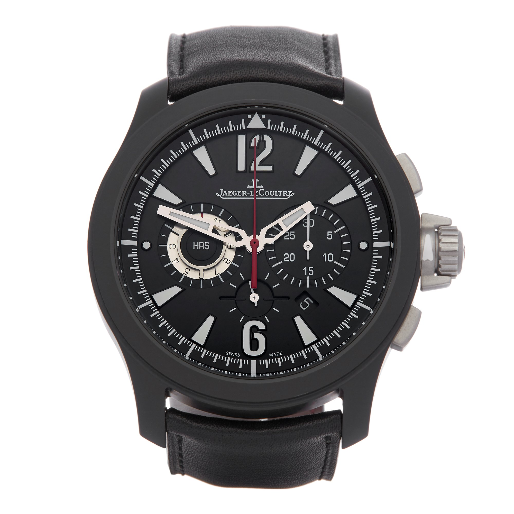 Jaeger-LeCoultre Master Compressor Chronograph Dlc Coated Stainless Steel Q204C470