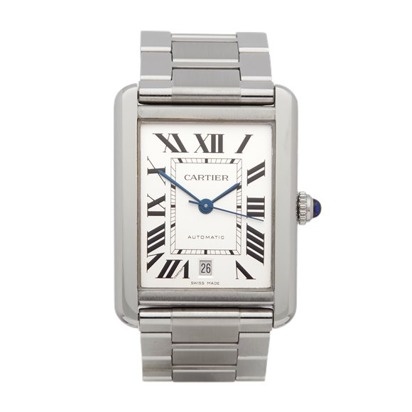 Cartier Tank Solo Stainless Steel - 3800