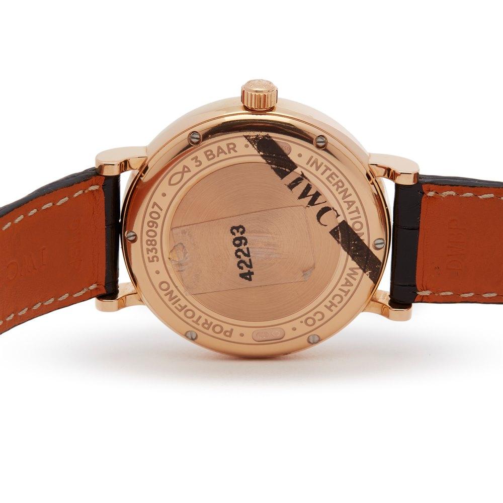 IWC Portofino Diamond Rose Gold IW459102
