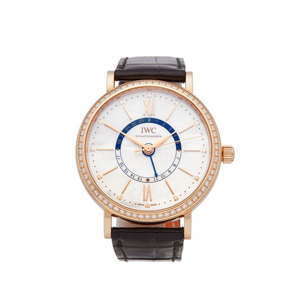 IWC Portofino Diamond 18k Rose Gold IW459102
