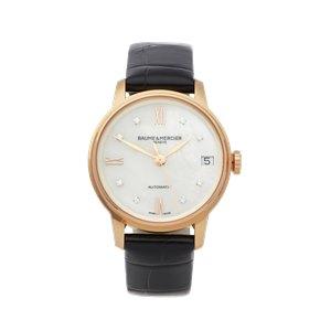 Baume & Mercier Classima 18K Rose Gold - MOA10286