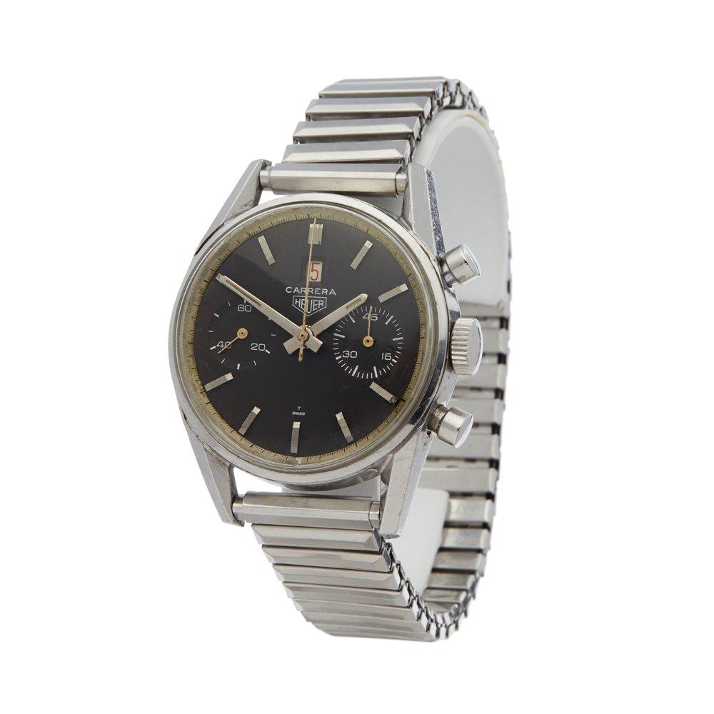 Heuer Carrera Chronograph Stainless Steel 3147 N