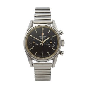 Heuer Carrera Chronograph Stainless Steel - 3147 N