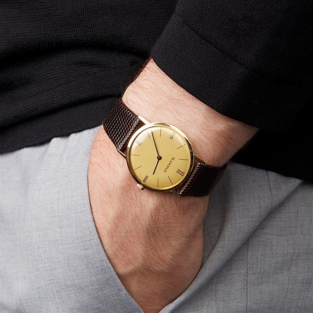 Blancpain Vintage 18K Yellow Gold 2850