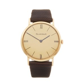 Blancpain Vintage 18K Yellow Gold - 2850