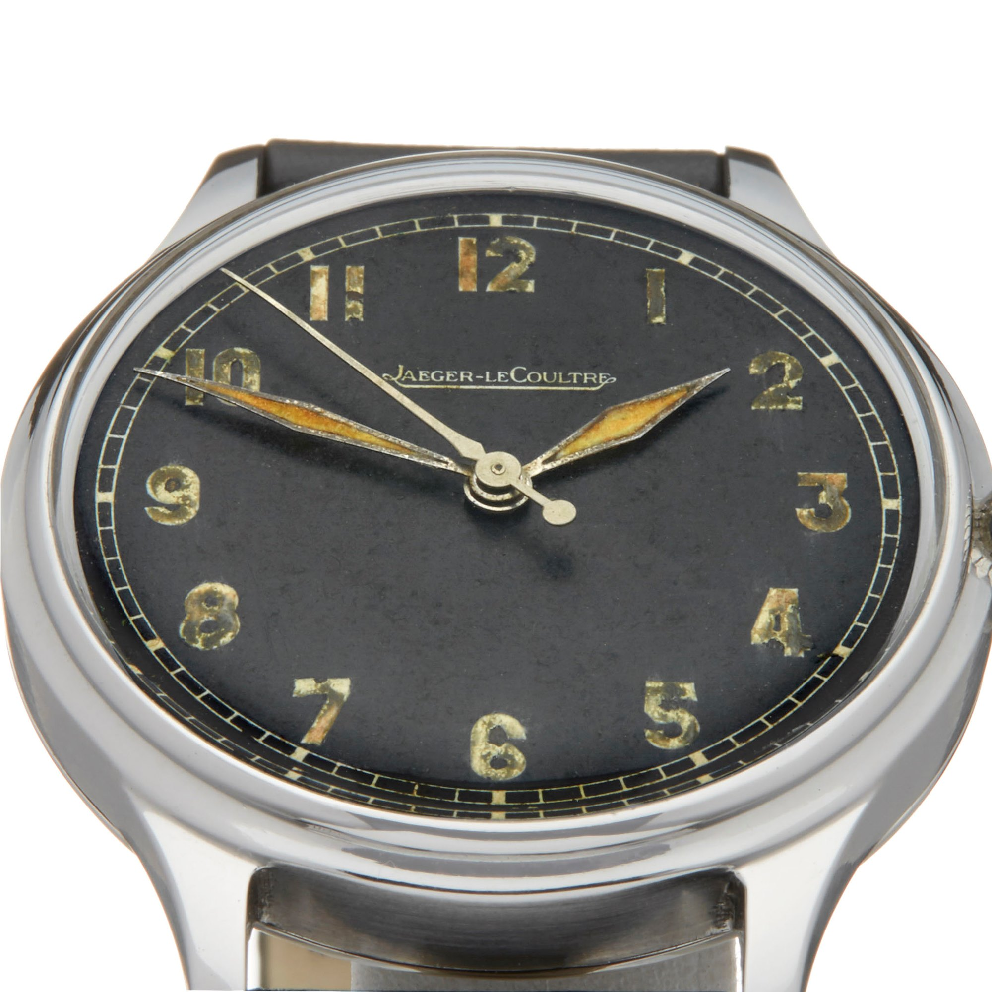 Jaeger-LeCoultre Vintage Roestvrij Staal Cal.P/468
