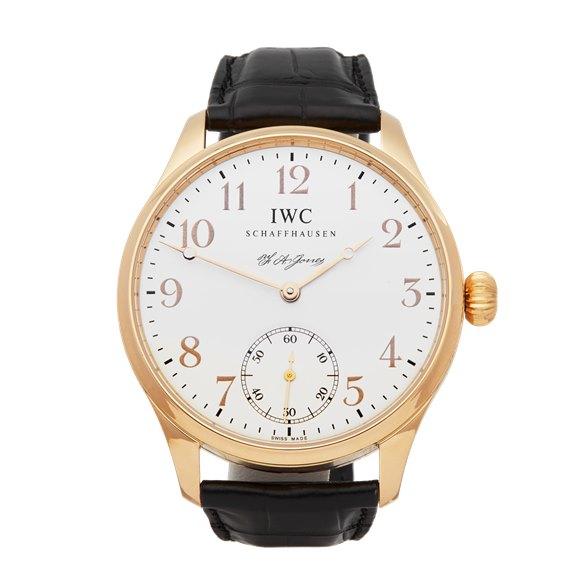 IWC Portuguese F.A Jones 18k Rose Gold - IW544201
