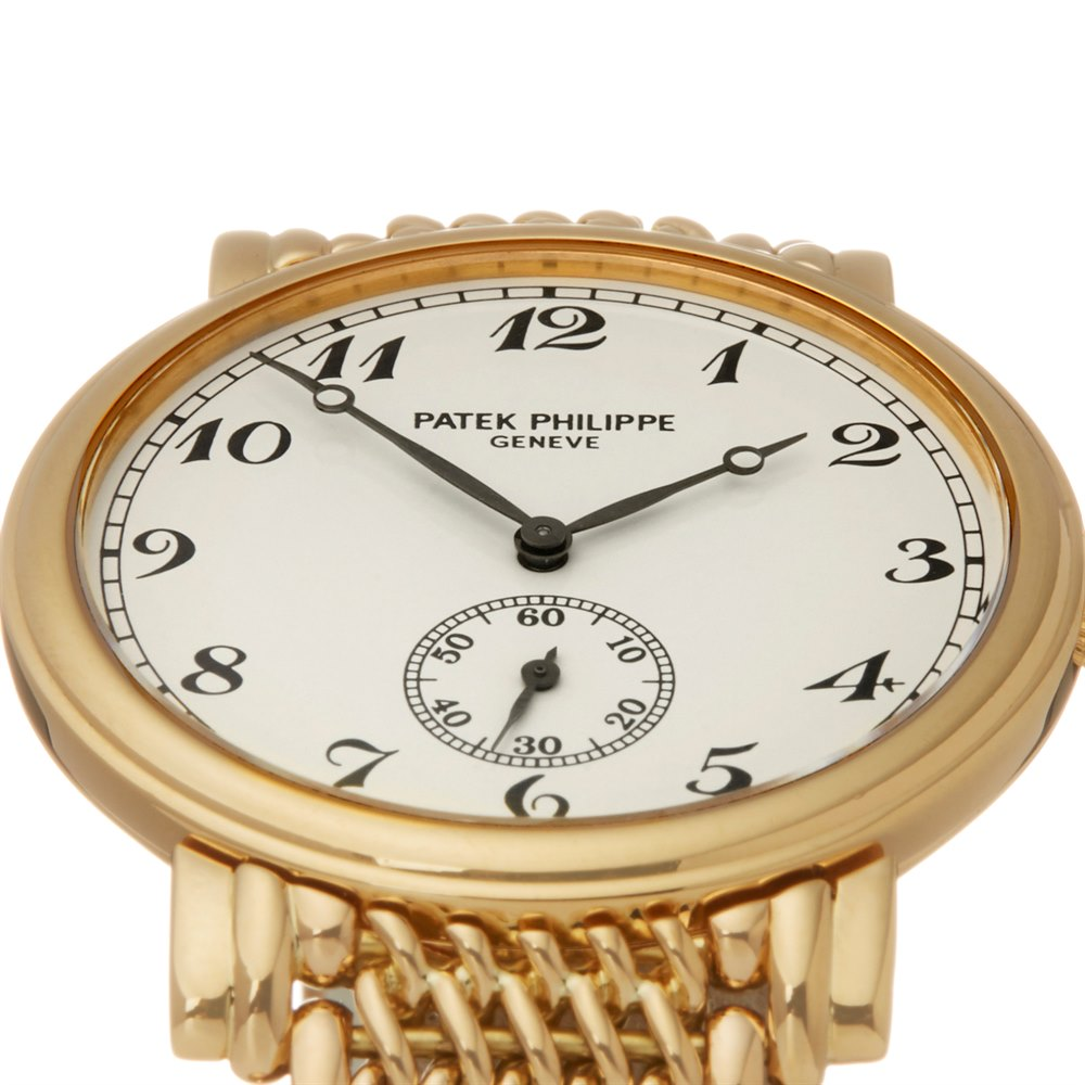 Patek Philippe Calatrava 18k Yellow Gold 1140289