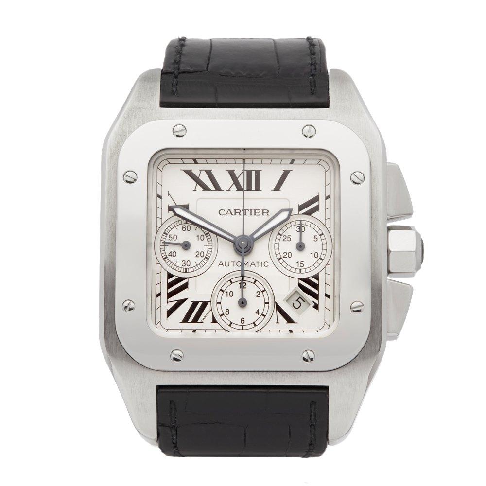 bd14aace1577e Cartier Santos 2740 2000's COM2022   Second Hand Watches   Xupes