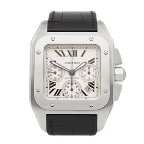 Cartier Santos 100 Xl Chronograph Stainless Steel - 2740