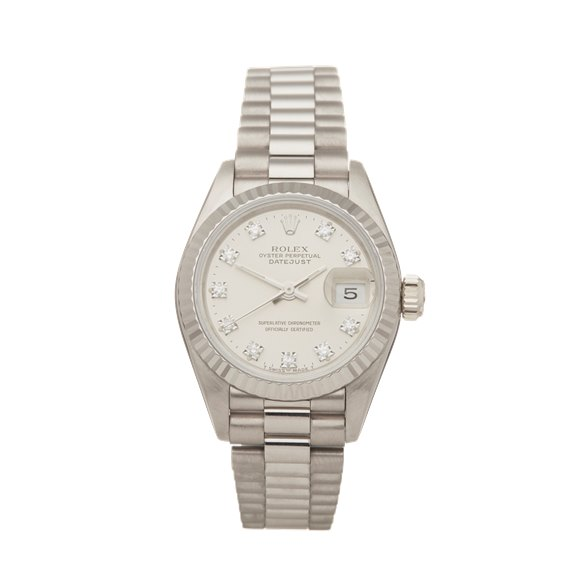 Rolex Datejust 26 18K White Gold - 69179G