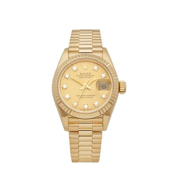 Rolex Datejust 26 18K Yellow Gold - 69178G