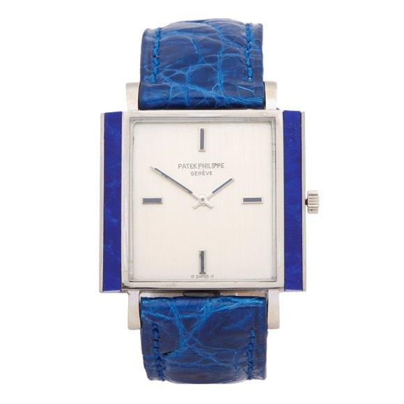Patek Philippe Vintage Lapis Lazuli Sigma Dial 18K White Gold - 3578/1