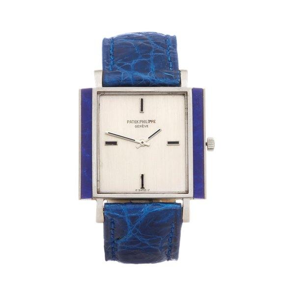 Patek Philippe Vintage Lapis Lazuli Sigma Dial White Gold - 612879