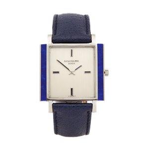 Patek Philippe Vintage Lapis Lazuli 18K White Gold - 3579G