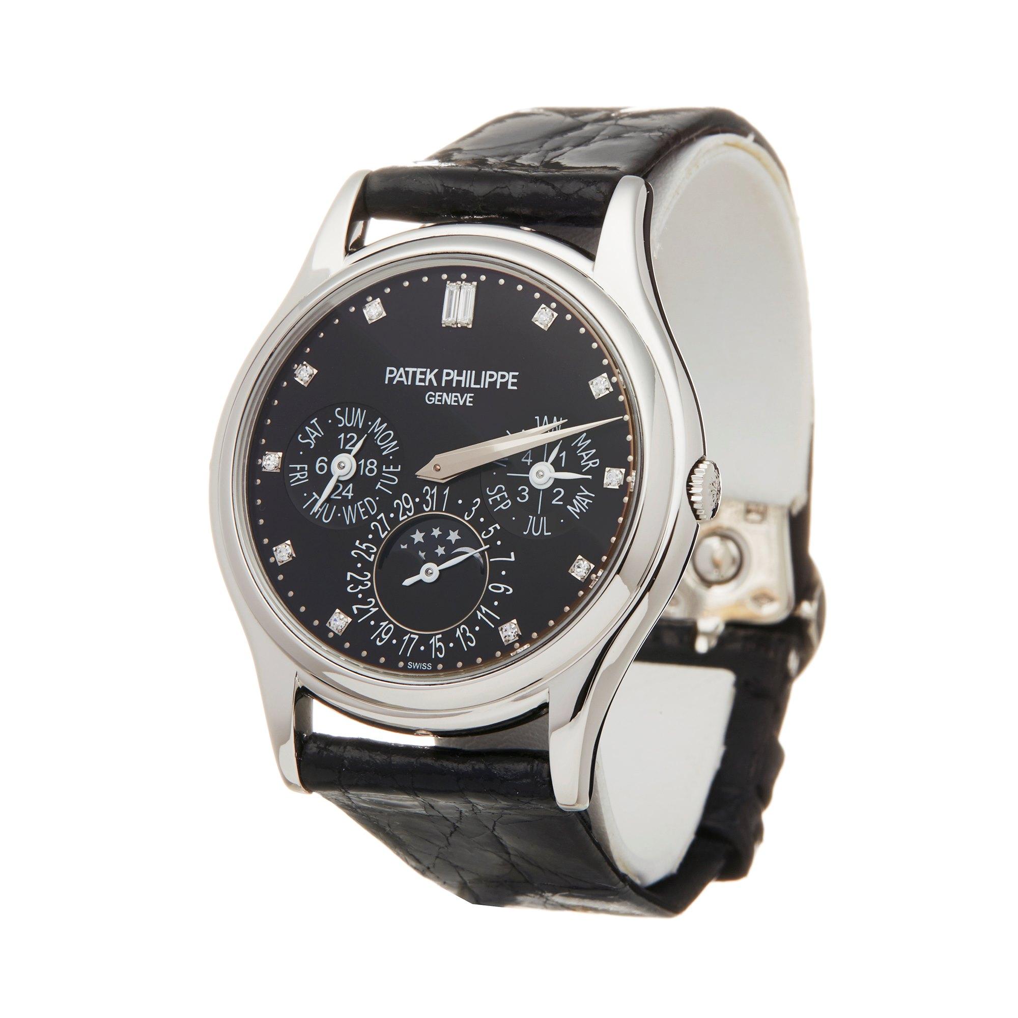 Patek Philippe Perpetual Calendar Grand Complications Diamond Platinum 5140P