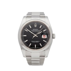 Rolex DateJust 36 Roulette Date Stainless Steel - 116200