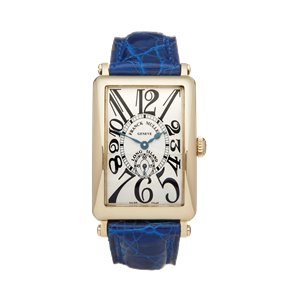 Franck Muller Long Island 18K Yellow Gold - 950 56