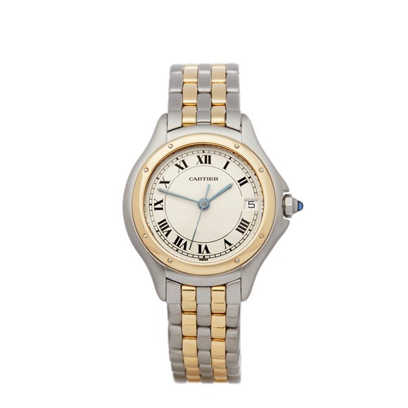 Cartier Panthere Cougar Stainless Steel & 18K Yellow Gold - 187906