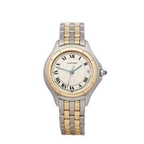 Cartier Panthère Cougar Stainless Steel & 18K Yellow Gold - 187906