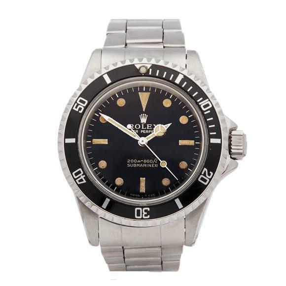 Rolex Submariner Non Date Gilt Gloss Stainless Steel - 5513