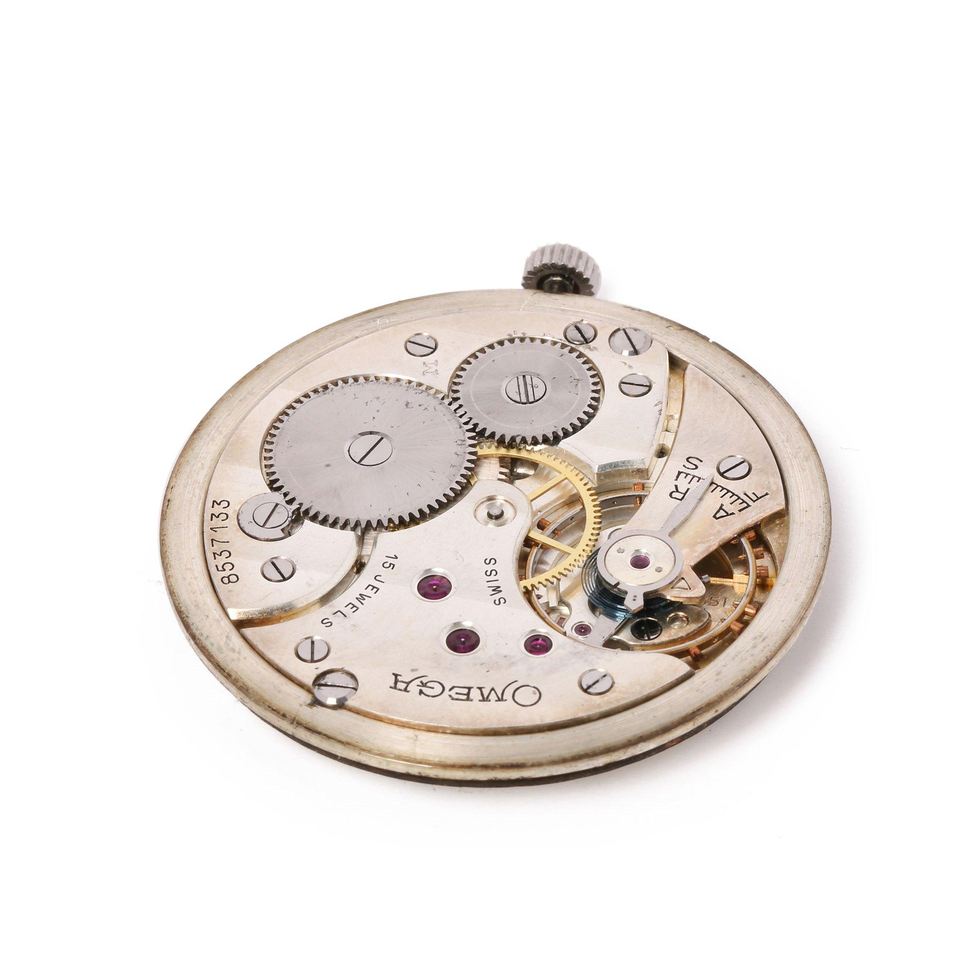 Omega Pocket Watch Platinum