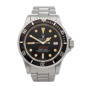 Rolex Sea-Dweller Double Red Mk 4 DRSD Stainless Steel - 1665