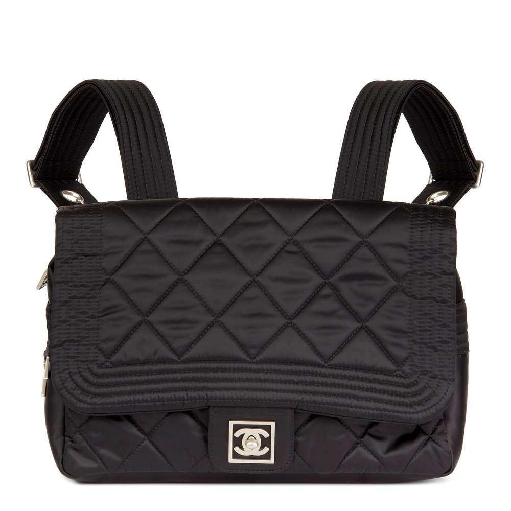 08ec6189277 Chanel Sports Line Backpack 2005 HB2477 | Second Hand Handbags