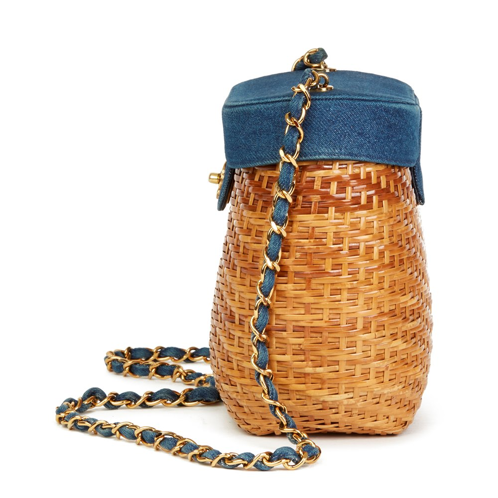 449ada45c4cf Chanel Basket Bag 1997 HB2496   Second Hand Handbags   Xupes