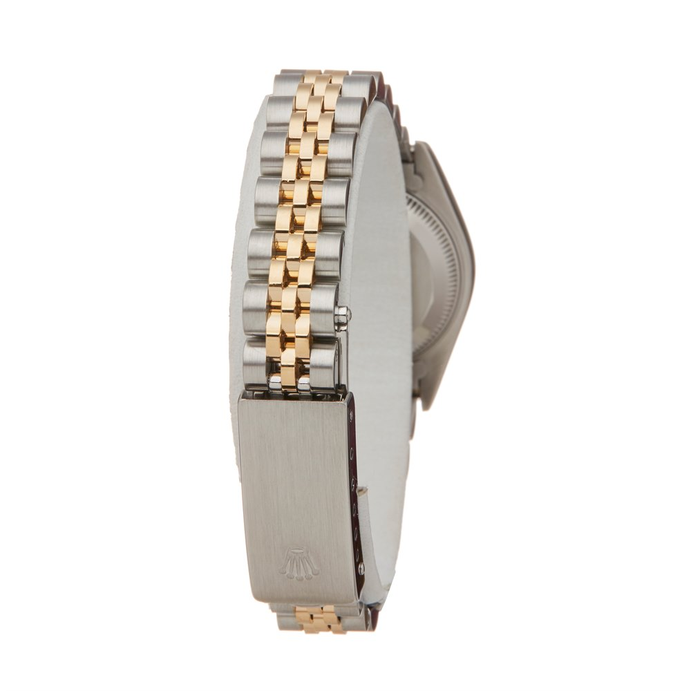 Rolex DateJust 26 Mother of Pearl Diamond Stainless Steel & Yellow Gold 69173
