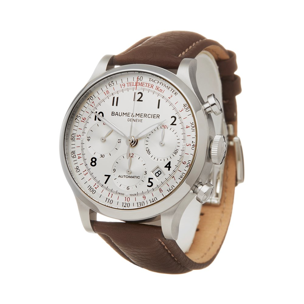 Baume & Mercier Capeland Chronograph Stainless Steel 65687