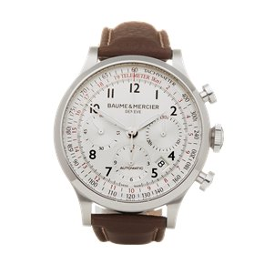 Baume & Mercier Chrono Stainless Steel - 65687