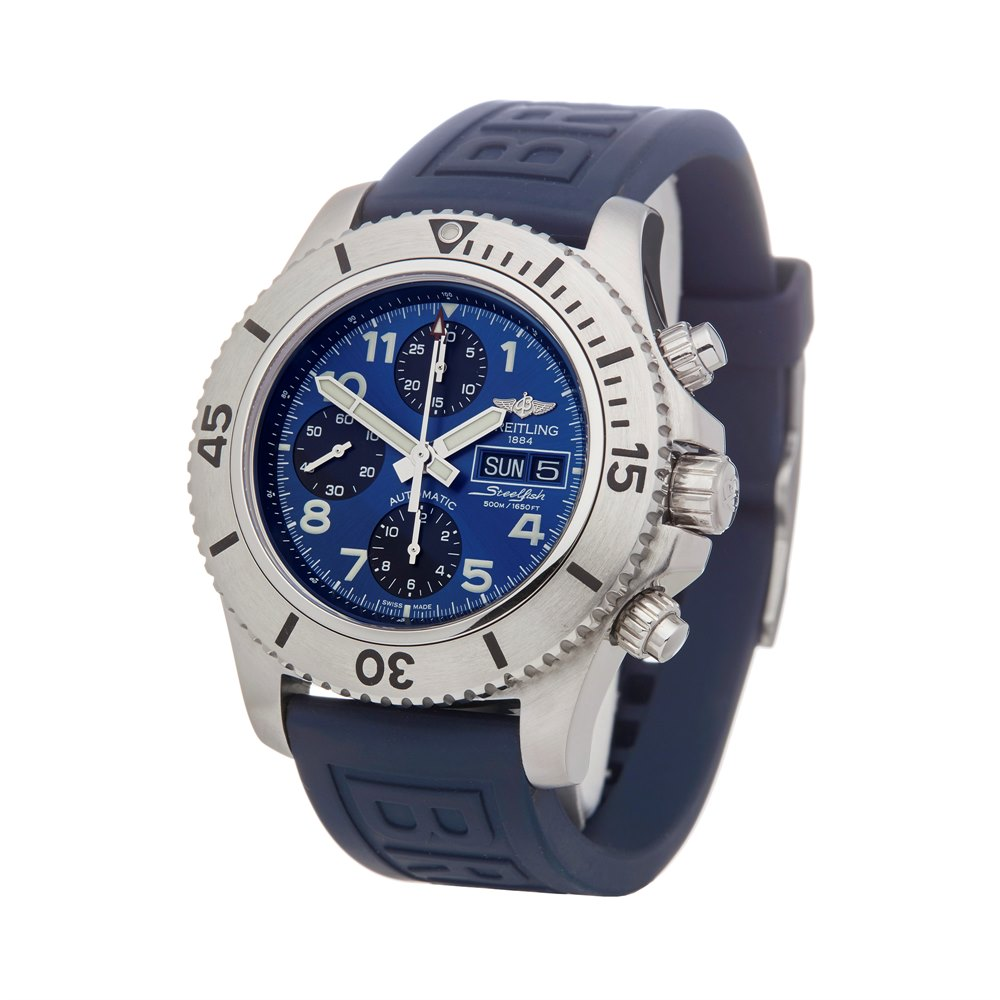 Superocean Steelfish Chronograph Stainless Steel A13341