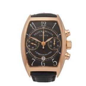 Franck Muller Casablanca Chronograph 18k Rose Gold - 7880CCCDT