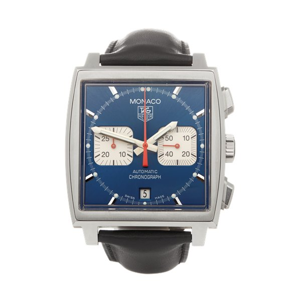 Tag Heuer Monaco Chronograph Stainless Steel - CW2112-0