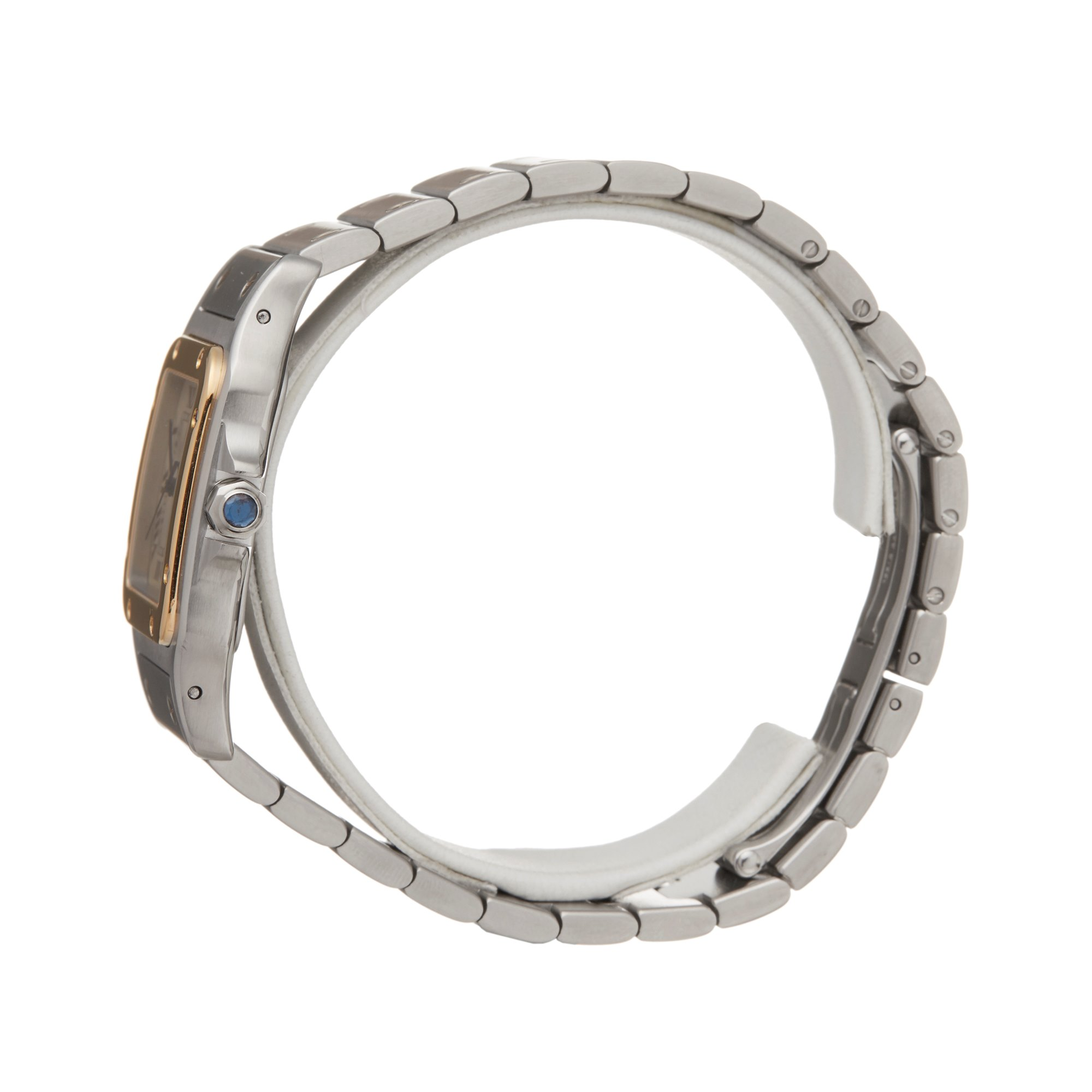 Cartier Santos Galbee Stainless Steel & Yellow Gold 1566