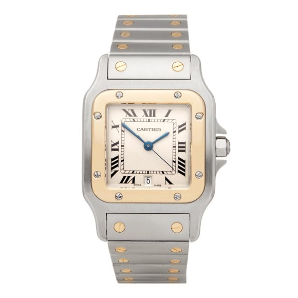 Cartier Santos Galbee Stainless Steel & Yellow Gold - 1567