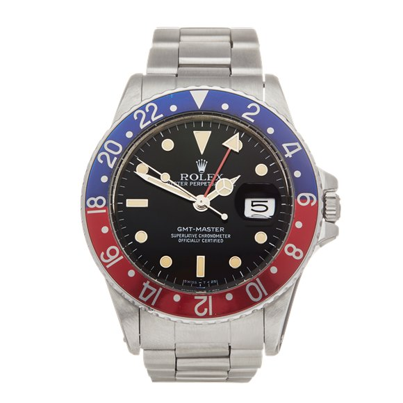 Rolex GMT-Master Pepsi Stainless Steel - 16750