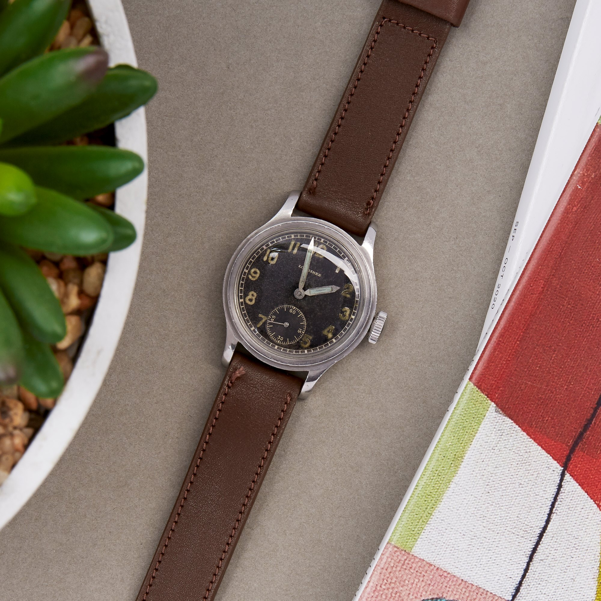 Longines Vintage DH Stainless Steel
